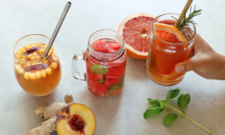 Osvěžující letní nápoje